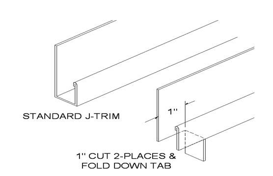 Pedestrian Door, Garage Door and Optional Window Trim