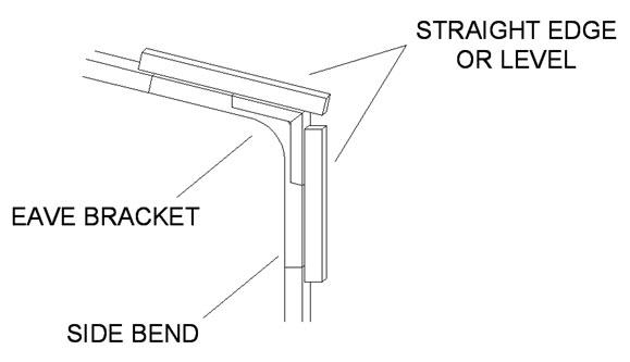 Installing Corner or Eave Brackets